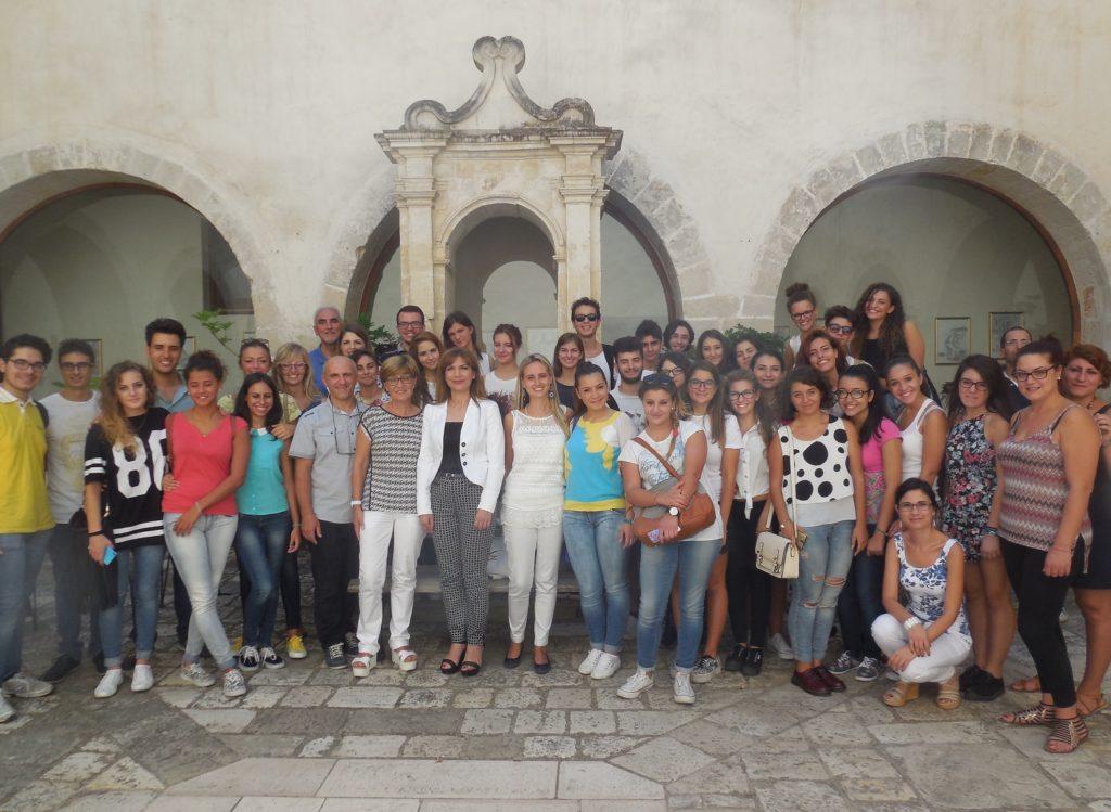 Docenti, Studenti Ricercatori ISBEM al Convento dei Cappuccini_Monastero del 3° Millennio_Mesagne_Estate 2015