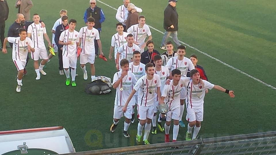 Il sogno che si avvera, l'ASD Academy Sporting Latiano vince il titolo provinciale Allievi