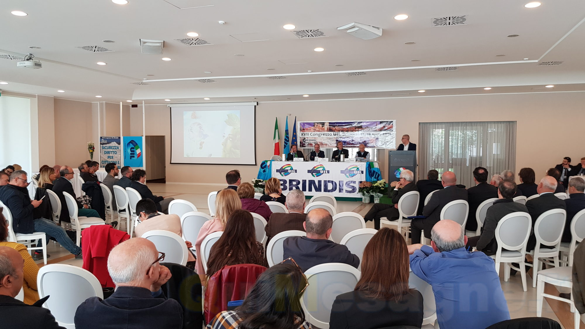 Uil Brindisi, Licchiello confermato Segretario Generale