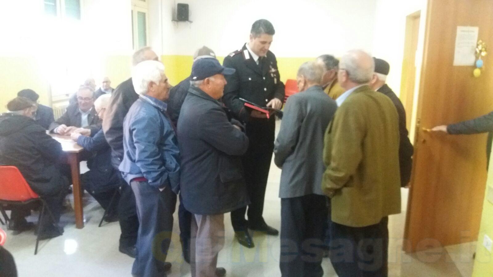 Truffe agli anziani: prosegue la campagna di sensibilizzazione dei Carabinieri
