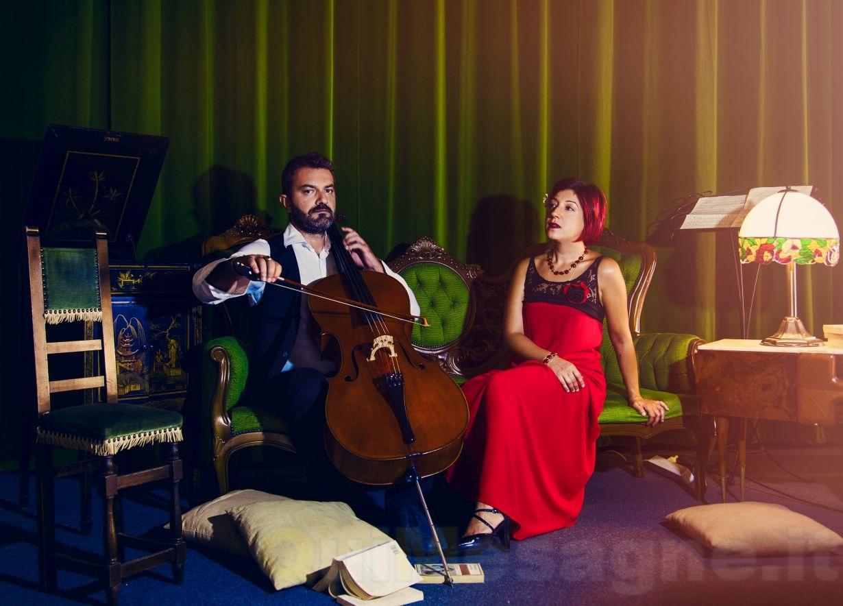 """Al Teatro Comunale di Mesagne """"Novilunio"""" del duo Hasa-Mazzotta"""