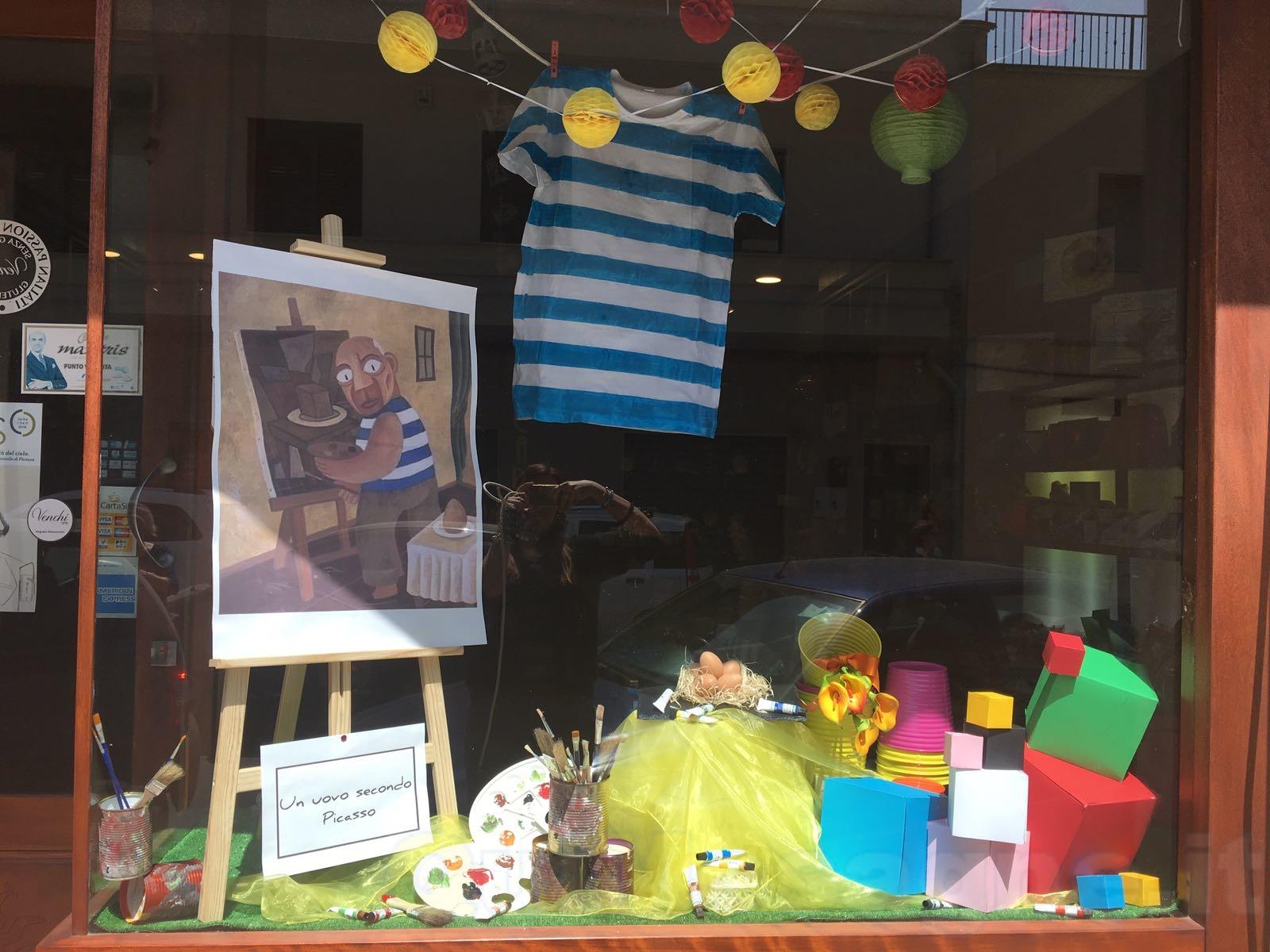 Il genio di Picasso raccontato attraverso i negozi. Carone lancia il progetto #larteinvetrina