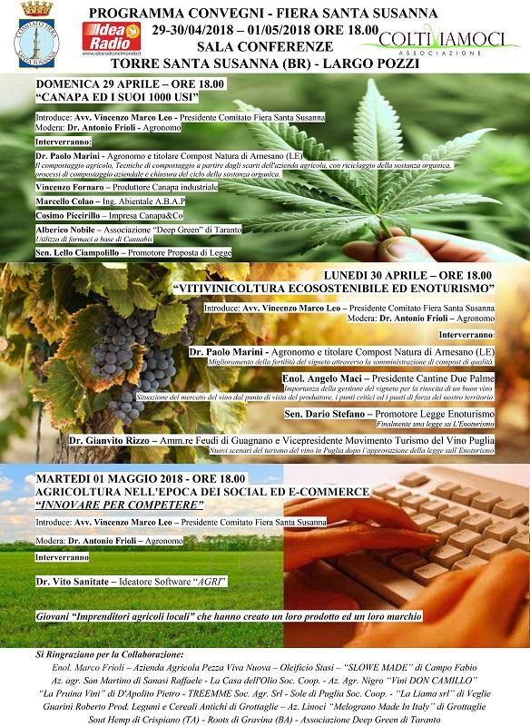 XXVII EDIZIONE FIERA DI SANTA SUSANNA 29 – 30 APRILE – 1 MAGGIO 2018