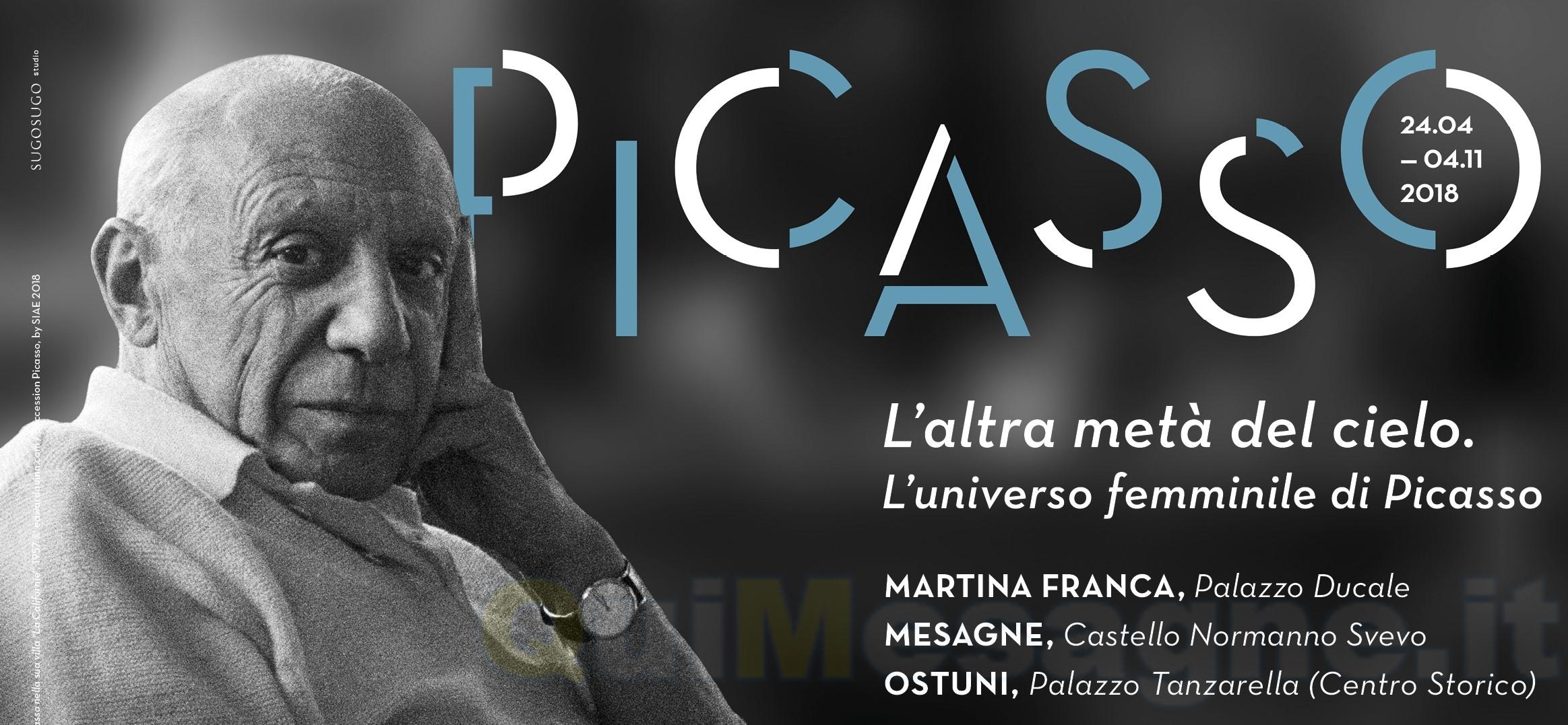 """Martedì 24 aprile inaugurazione al pubblico della mostra """"Picasso e l'altra metà del cielo"""""""