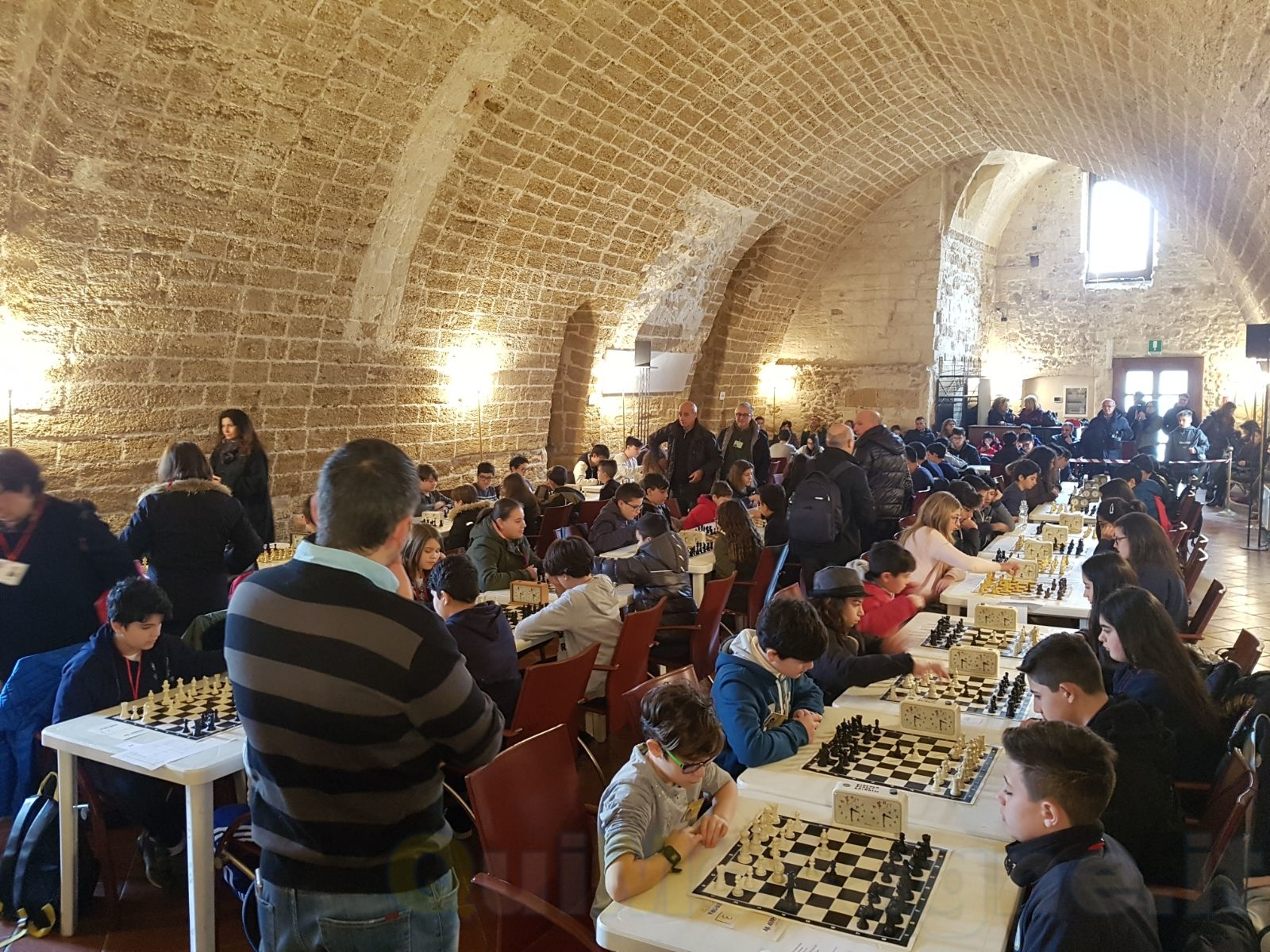 Sabato 14 aprile nel Palazzetto dello Sport la finale regionale del torneo di scacchi per le scuole