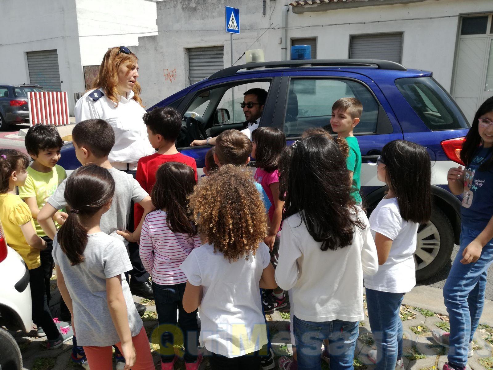 Corso di educazione stradale al parco Potì