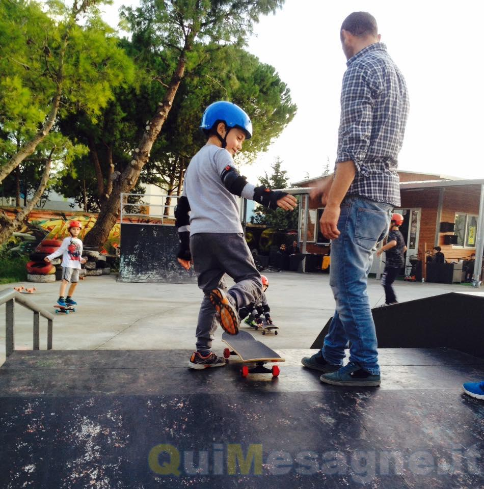 Al via i corsi di Skateboard al Salento Fun Park