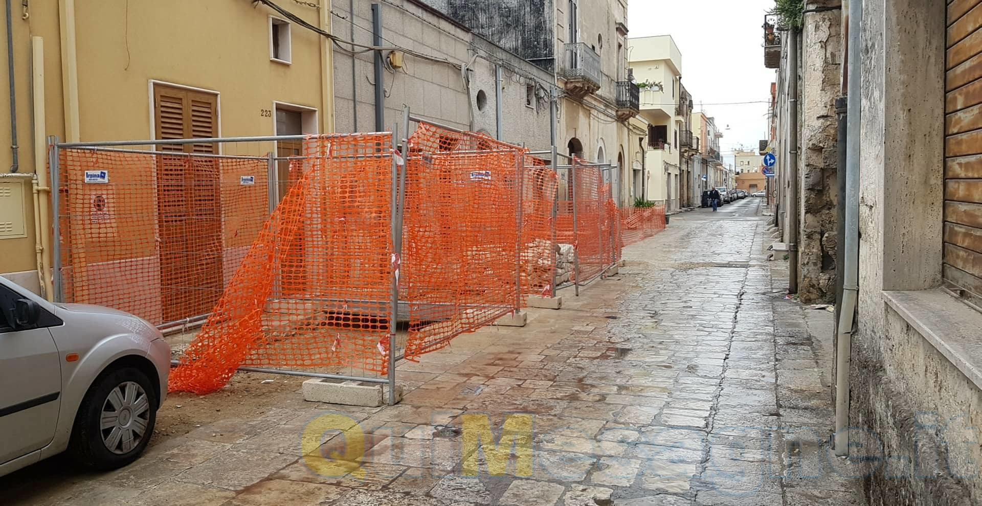 UFFICIO RECLAMI – Lavori su via E. Ferdinando senza fine, intervenga il Comune