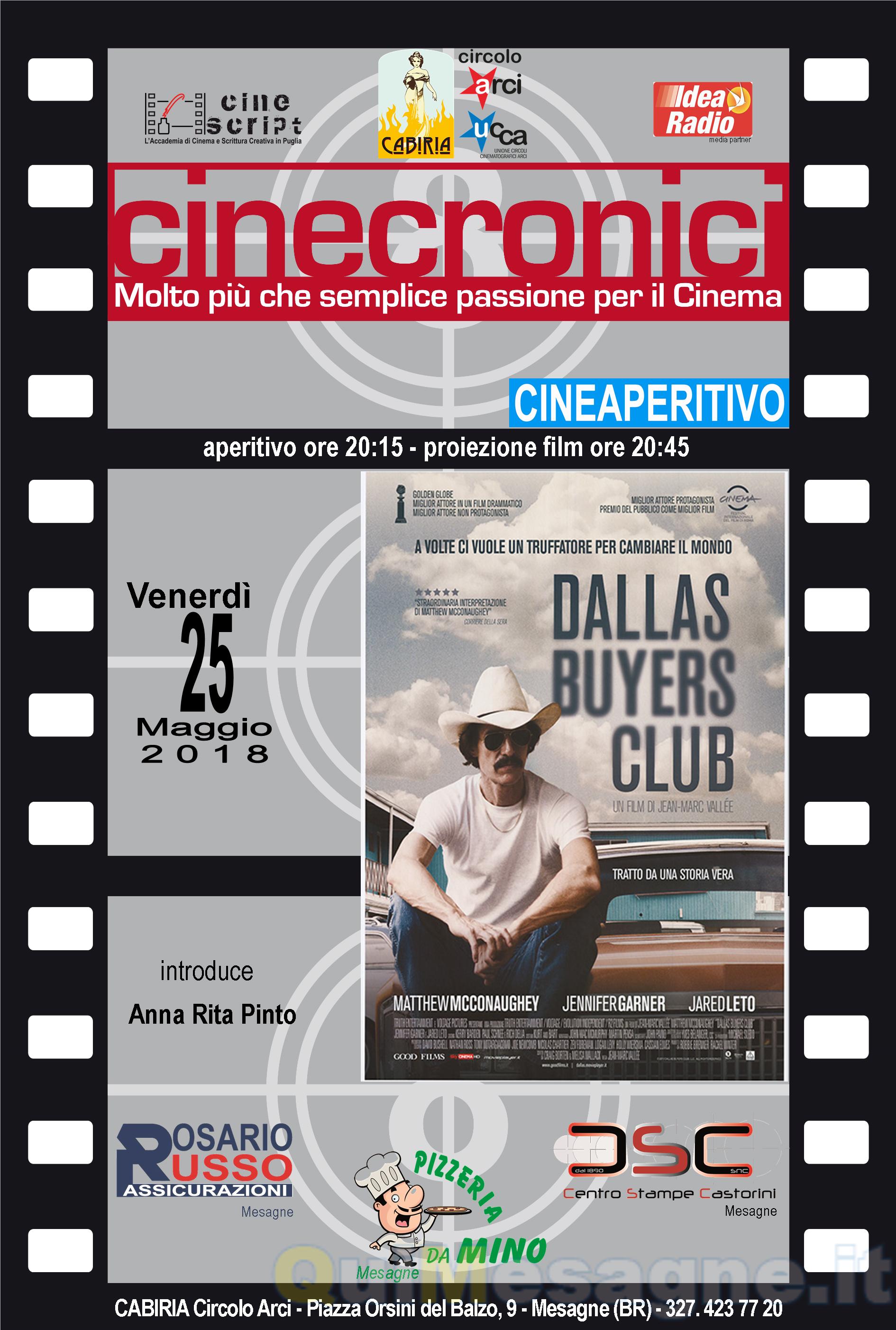 """Una battaglia per il diritto alla vita nel film premio Oscar""""Dallas Buyers Club"""""""