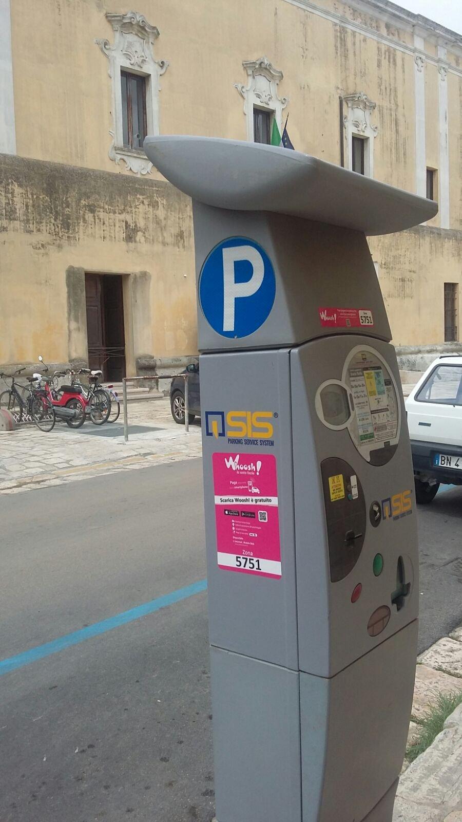 Anche a Mesagne il parcheggio si paga con lo smartphone