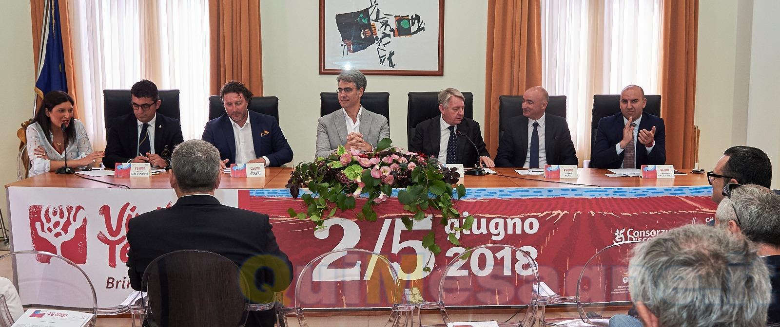 """Brindisi è pronta a far festa con il """"Vinibus Terrae 2018"""" – VIDEO INTERVISTE"""