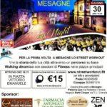 Arriva finalmente a Mesagne lo Streetworkout by night