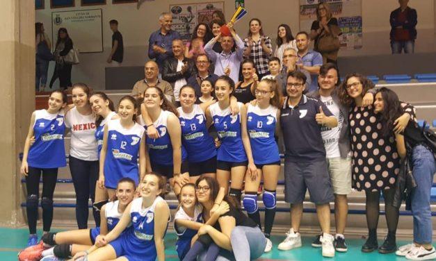 Mesagne Volley, le ragazze dell'Under 13 si sono laureate campionesse provinciali