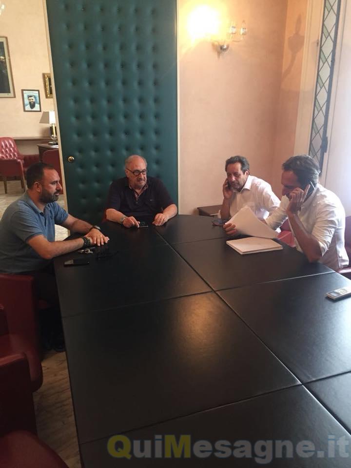 """Mauro Vizzino in Provincia: """"Sbloccare i lavori della Mesagne – San Pancrazio"""""""