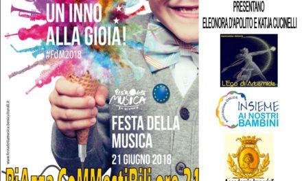 """Giovedì 21 giugno c'è la """"Festa della Musica"""" in piazza Commestibili"""