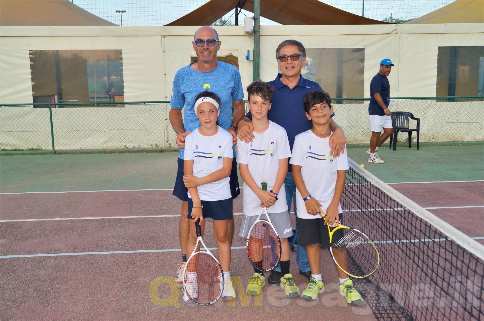 """Partito il torneo open di tennis del """"De Guido"""""""