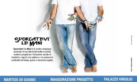 """""""Sporcatevi le mani"""" un progetto per i bambini e ragazzi affetti da autismo"""