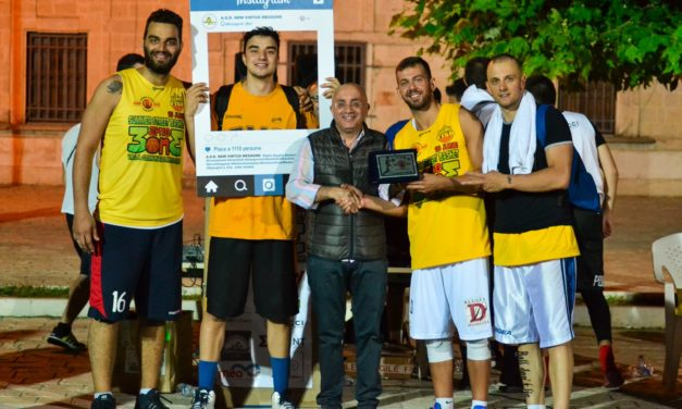 Concluso il torneo Summer Street Basket col sostegno della New Virtus Mesagne