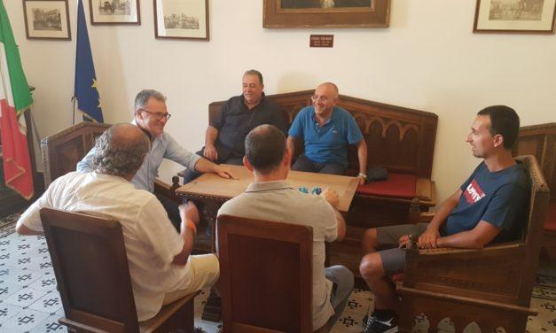 Il Mesagne Calcio incontra il Sindaco, per l'Eccellenza ci vuole l'aiuto della città