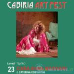 """Caterina Costantini apre il Cabiria Art Fest con un omaggio a """"Nannarella"""""""