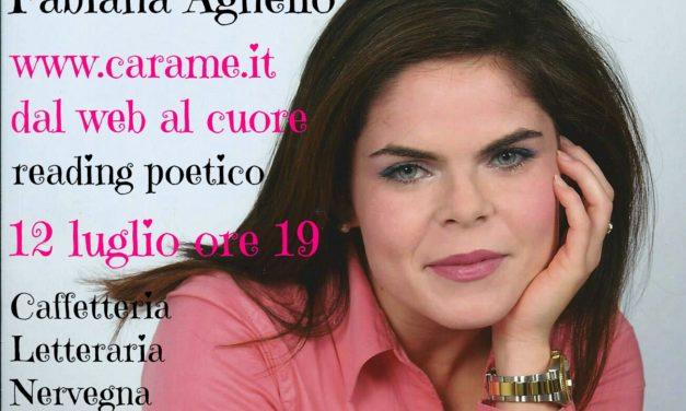 A Palazzo Nervegna reading poetico con la mesagnese Fabiana Agnello