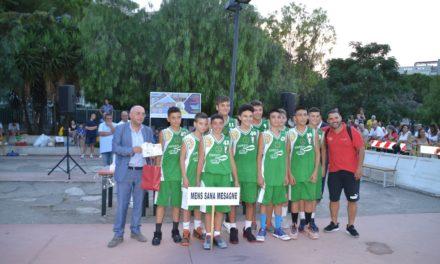 Mens San Mesagne al secondo posto Torneo Brindisi Porta del Salento