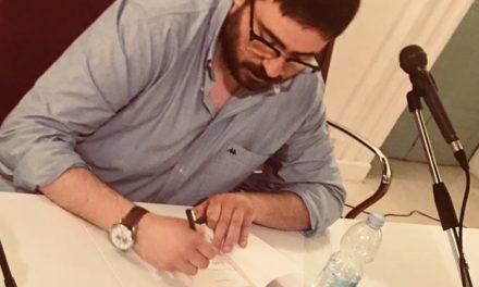 Stasera 19 Luglio Spazio d'autore ospita Vincenzo Sardiello
