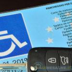 Tre automobilisti mesagnesi multati per uso scorretto del contrassegno invalidi