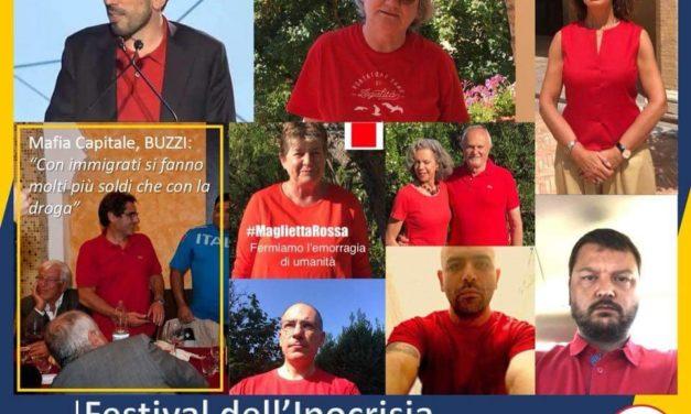 """On. Giovanni Luca Aresta: """"Le magliette rosse solo Festival dell'ipocrisia"""""""