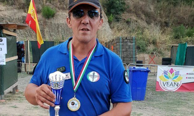 Tony Mitrugno vince il Campionato italiano IASA di tiro dinamico con pistola