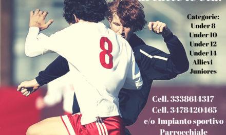Al via la Scuola Calcio San Giuseppe Artigiano