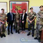 Brindisi. M5S, visita Deputati alla Brigata Marina San Marco