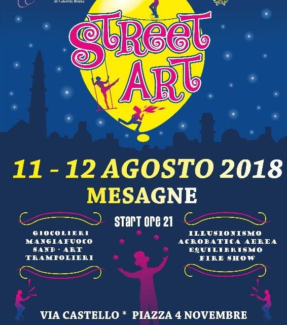 Divertimento, stupore ed allegria: a Mesagne torna Street Art – Artisti di Strada