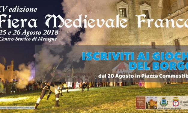 "Sabato 25 Agosto la 1^ ed. de ""I Giochi del Borgo"""