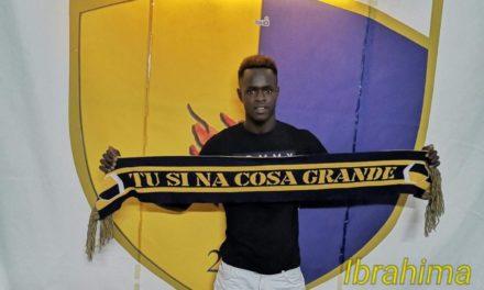 Al Mesagne Calcio arriva il senegalese Ibrahima