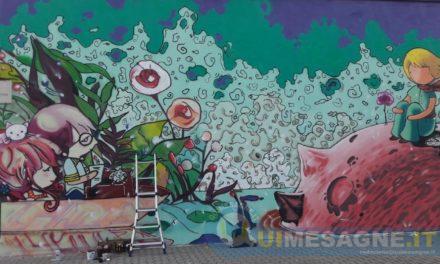 """""""L'essenziale è invisibile agli occhi"""", ecco il messaggio per grandi e bambini apparso in Piazza Pertini"""