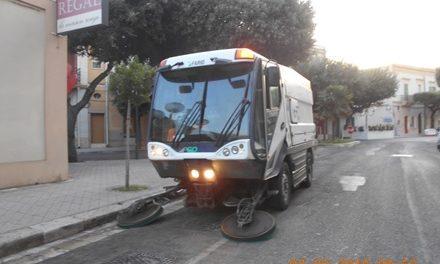 Pulizia strade, attenzione ai giorni della spazzatrice