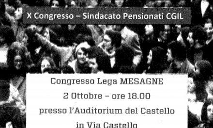 """""""Qui si fa il futuro"""", Congresso Pensionati CGIL"""