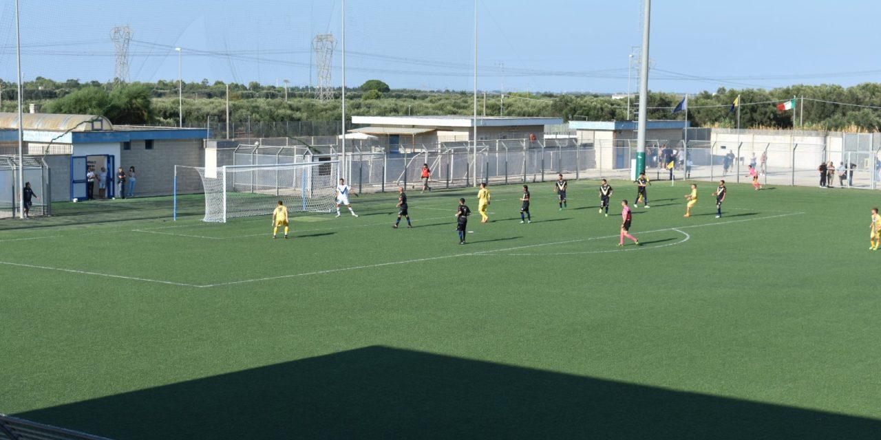 Il giovane Mesagne ferma l'esperto Brindisi. Pareggio nel primo derby della stagione  – VIDEOCRONACA