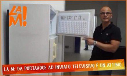 """La M attacca Aresta: """"Da Portavoce ad inviato televisivo è un attimo"""""""