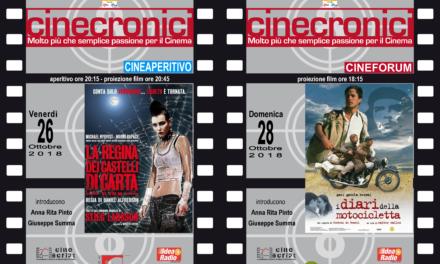 Complotti e utopia nei film del weekend al Cabiria Circolo Arci