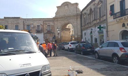 Partiti i lavori per il rifacimento di acqua e fogna nel centro storico