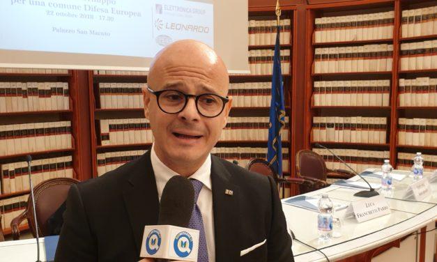 L'on. Aresta al convegno su Ricerca e sviluppo nella Difesa europea – Guarda video