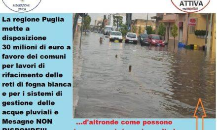 """Mesagne Attiva e ProgettiAmo: """"Piove sul bagnato"""""""
