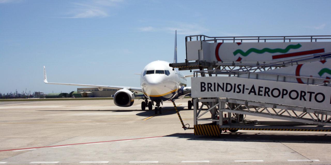 Traffico passeggeri in crescita su Bari e Brindisi:  in nove mesi + 6,5%.