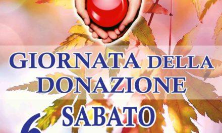 Sabato 6 ottobre donazione del Sangue