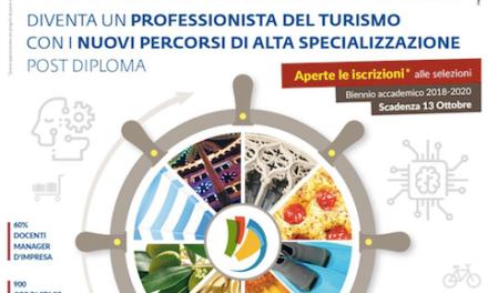 Vuoi diventare esperto nel settore turistico? Hai tempo fino al 20 ottobre per partecipare alla selezione