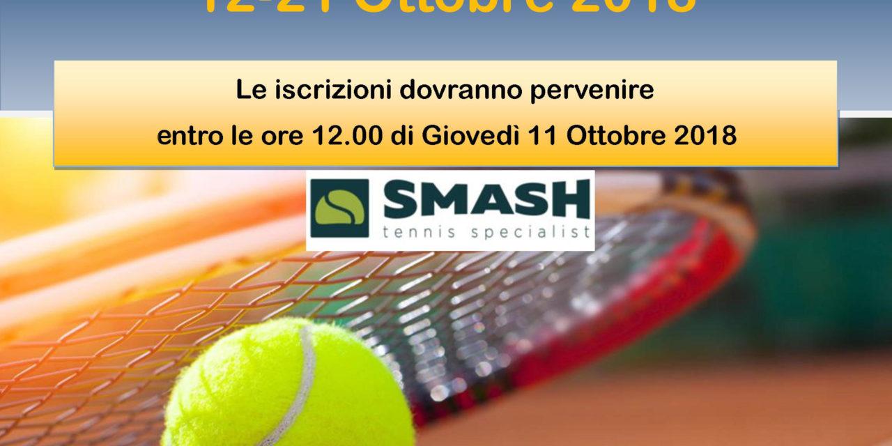 """Al via il 36° Trofeo di Tennis """"Dino De Guido"""""""
