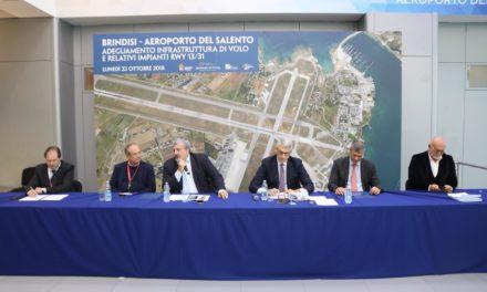 Al via gli interventi di riaqulificazione della pista dell'Aereporto del Salento