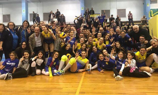 Appia Project Mesagne Volley, una vittoria di prepotenza